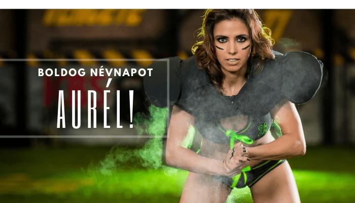 Aurél név üdvözlő borító